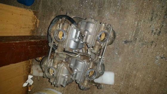 vfr 400 nc40 carbs for sale complete.