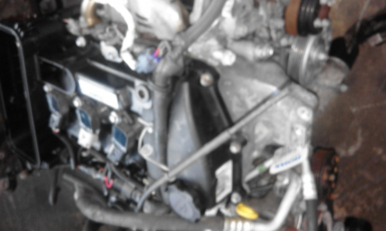TOYOTA 1KR YARIS COMPLETE ENGINE