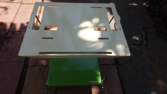 Companion Gas Stove Table for sale