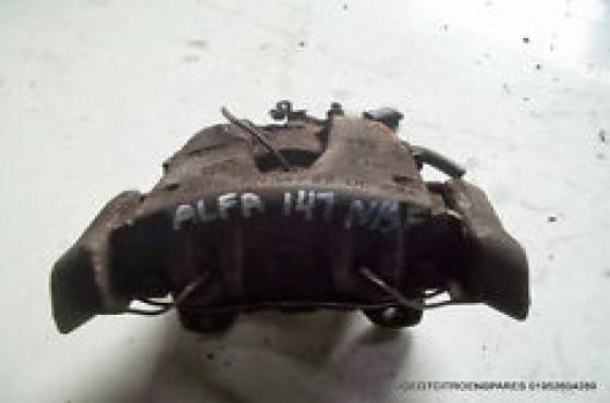 Alfa Romeo 147 brake Calipers   for sale  Contact 076 427 8509  Whatsapp 0764278509  Tel: 012 753 06