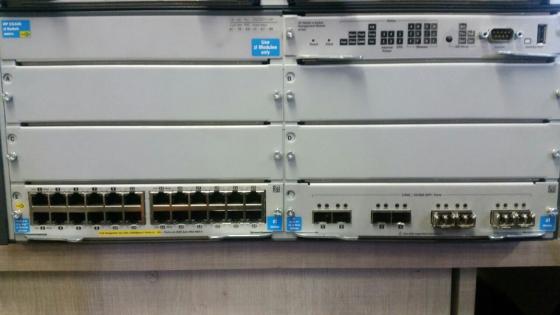 HP Procurve E5406 switch