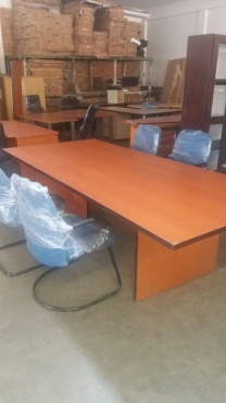 Boardroom table for sale.