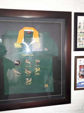 100 Years Commemorative Springbok jersey for sale.No:857/3000 made.