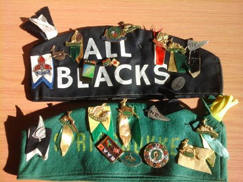 Various Springbok badges 1949,1960,1967, 1969
