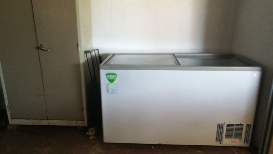 Sliding door  display fridge
