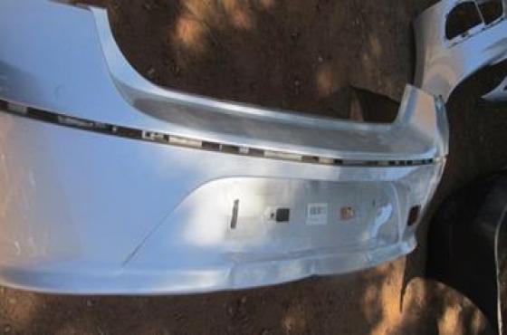 2016 Chevrolet Cruze Rear Bumper Silver For Sale