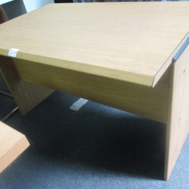 pine office desk