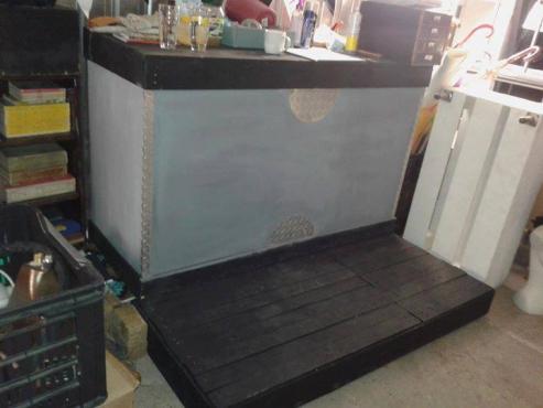 Bar Counter and Base