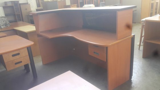 Reception Counter Include two drawers