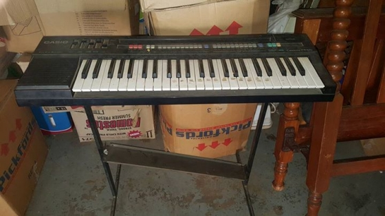 Casio keyboard for sale.