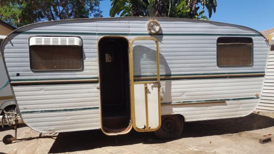 Contractors caravan Jurgens for living purpouses