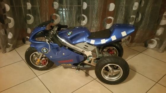 49cc 2stroke pocket bike(petrol)