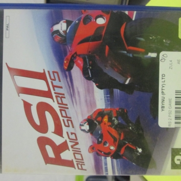 RS2 Racing ps 2 Game