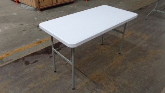 Rectangular folding tables for home and commercial use