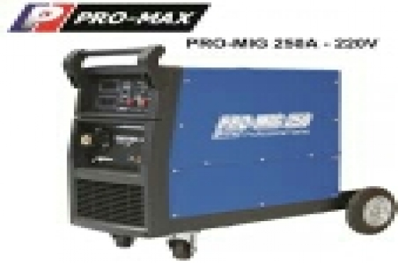 250A Mig welding machine + FREE AUTO HELMET