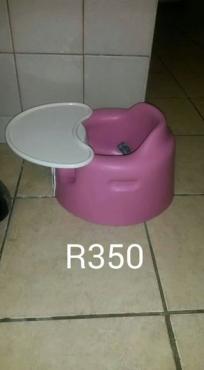 Bumbo feeding chair