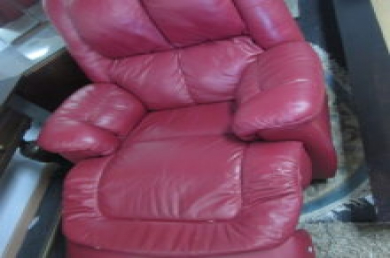 Red Recliner Couch