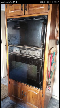 Gemini oven and Glass cooker