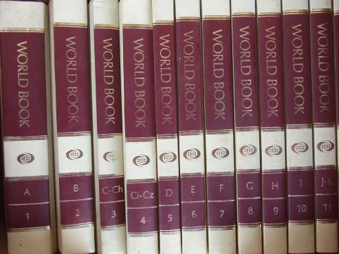 World Book Encyclopedia Set  - complete set of  22 Volumes