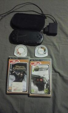 PSP Te koop met games