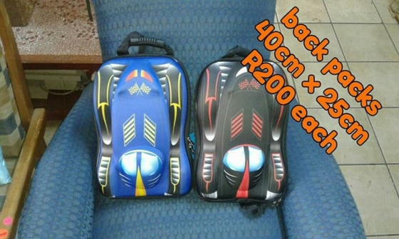 Back packs for sale