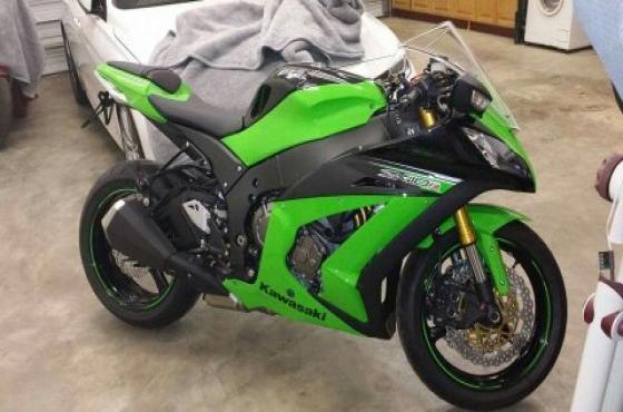 2013 Kawasaki Ninja ZX10R ABS | Junk Mail