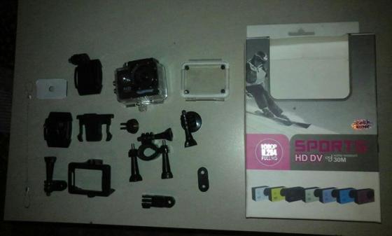 Sports HD DV water resistant camera