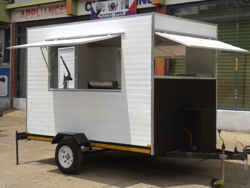 Mobile Kitchen Trailer, We deliver everywhere in South Africa