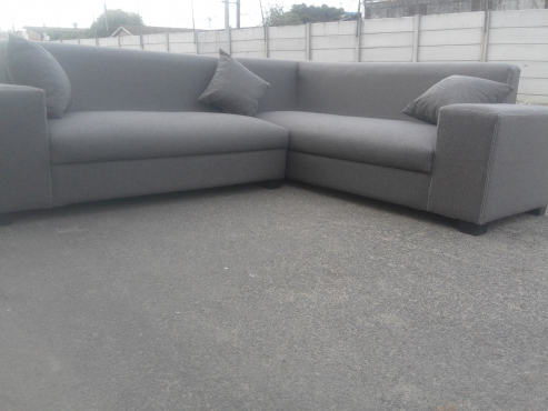 new stylish grey couch