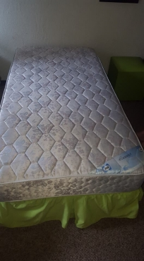 Sealy single bed and mattress