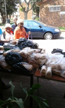 Donate old unwanted clothes, furniture, household goods to charity