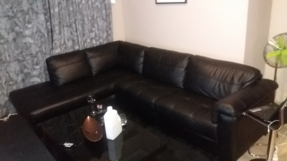 Brand New Rochester Couch Angelo Leather Upper Corner