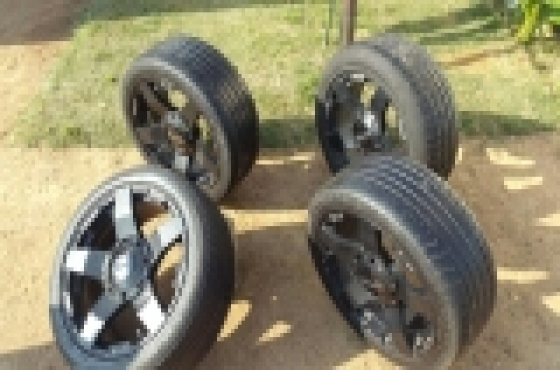 Hi there Selling 20 inch Mags and tyres