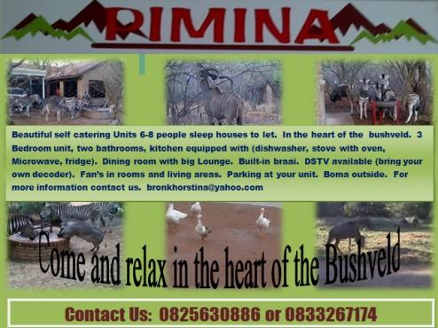 Leeupoort Lieflike huis met Jacuzzi te huur vir naweke en vakansies naby Thabazimbi Limpopo