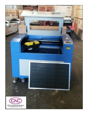 LASER CUTTING AND ENGRAVING MACHINE ON SPECIAL