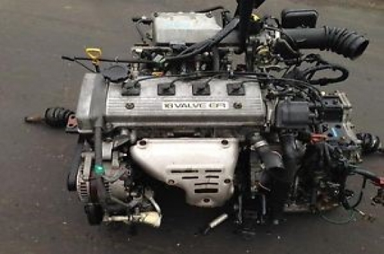 Toyota Corolla/Tazz 1 8 1993-1997 (7AFE) Complete engine for