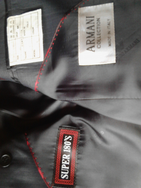 Giorgio Armani formal mens suit