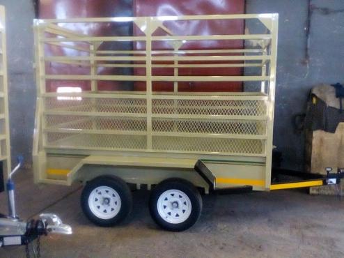 2.4m Cattle trailer