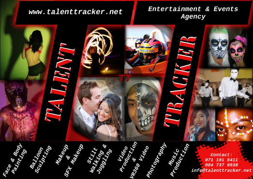 Face Painting, Balloon sculpting & many other Events & Entertainment Services