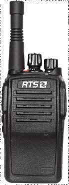 RTS DV3950. Professional IP portable radio operating on WCDMA network