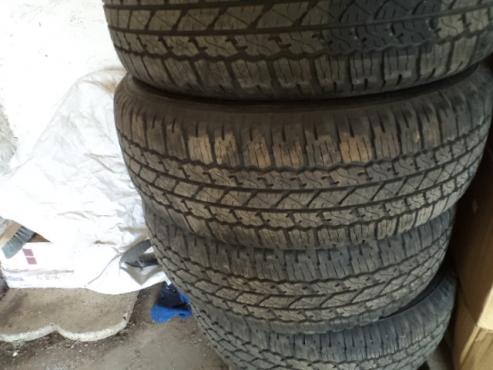 Bridgestone Dueller tyres
