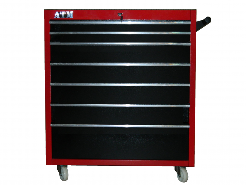 Toolbox with 7 draws , fully lockable and on wheels