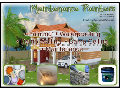 Construction and maintenance Services in Gauteng
