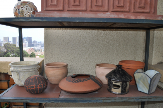 Assorted garden accessories : R50 each