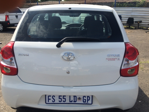 Toyota Etios 1.5 2017 Model with 4 Doors, Factory A/C and C/D Player,