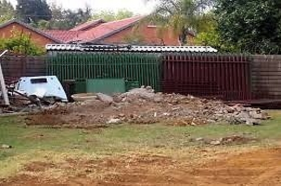 We do demolitions remove rubble from complex east rand