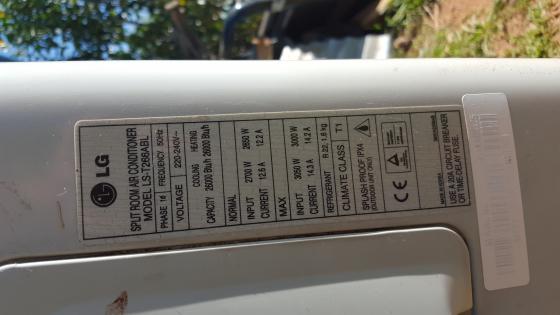 LG air conditioner compressor