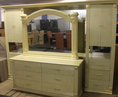 Cream bedroom suite
