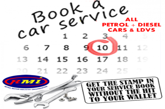 NEED YOUR VEHICLE SERVICED? Petrol + Diesel Cars/Ldv's...