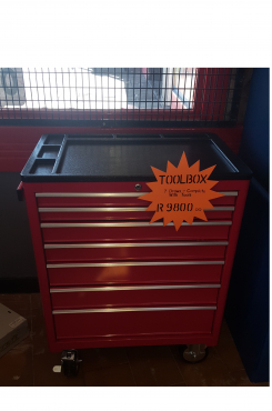 Red 7 Draw Toolbox complete with tools